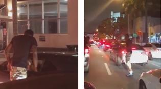 Traffic Jam Blow Job