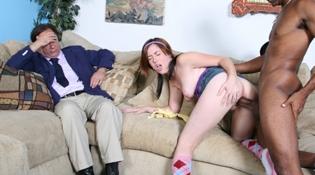 Making Her Dad Watch